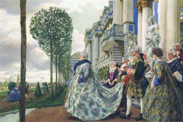 Императрица Елизавета Петровна в Царском Селе